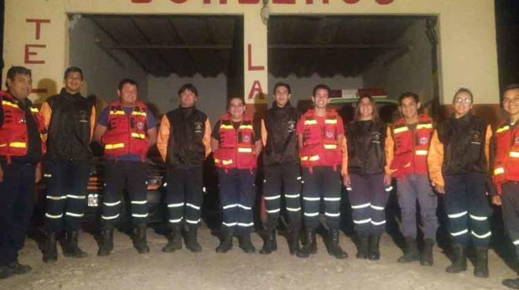 Bomberos de La Paz ya cuenta con personería jurídica