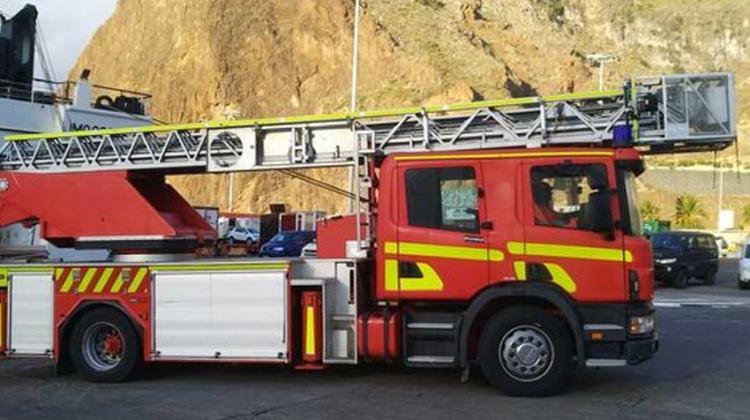 Bomberos La Palma incorpora un nuevo camión-escala