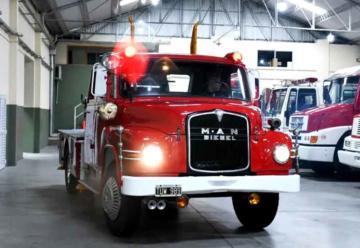 Presos repararon un camión de Bomberos de Mercedes