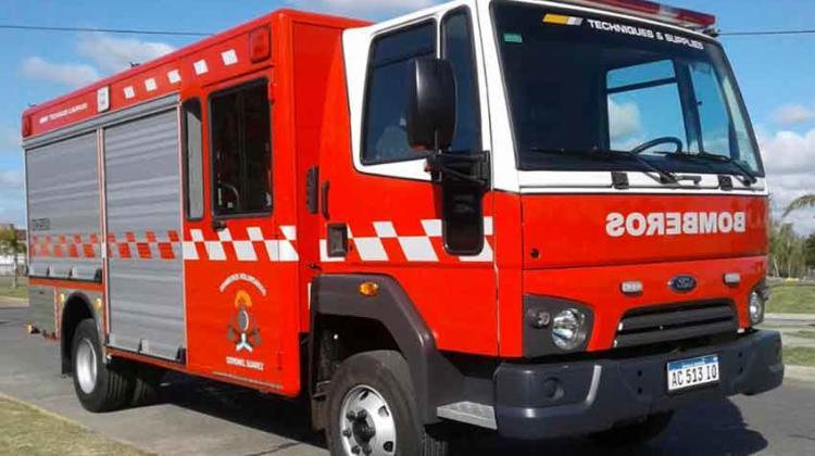 Nueva Unidad de rescate de Bomberos de Coronel Suarez