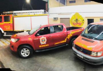 Nuevas unidades para Bomberos Voluntarios de Moreno