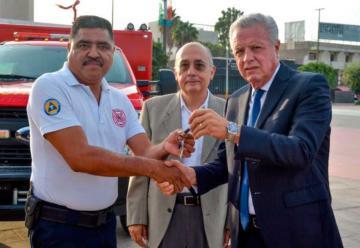 El Cuerpo de Bomberos de Torreón recibieron nuevos equipos