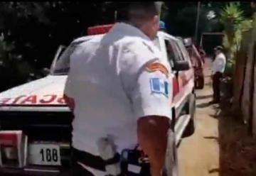 Roban ambulancia de Bomberos Voluntarios en Sacatepéquez
