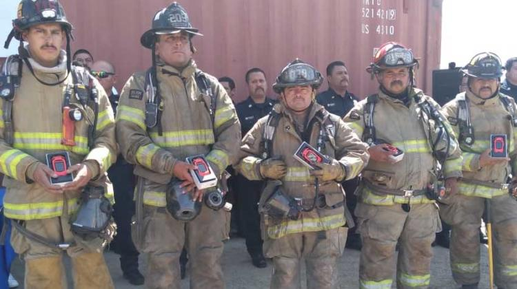 Bomberos de Tijuana se equipan con cámaras térmicas