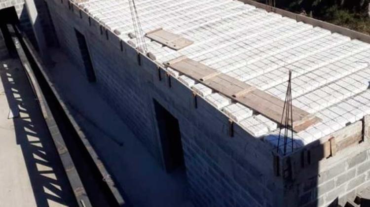 Avanza la construcción del nuevo cuartel de Bomberos de Feliciano
