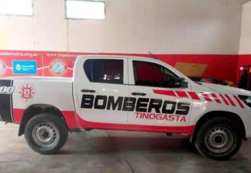 Bomberos de Tinogasta incorporó dos nuevas unidades