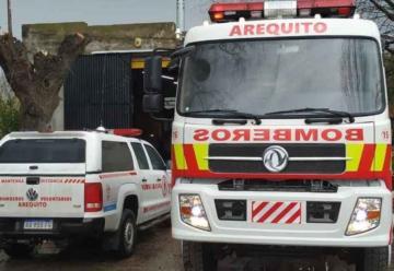 Arequito sumó un nuevo camión para sus Bomberos