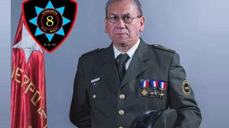 En acto de servicio murió bombero de Octava compañía de Puerto Montt