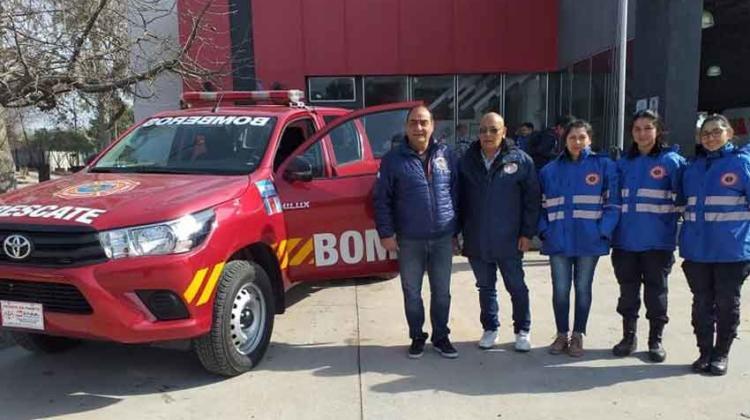 Bomberos termenses adquirió una camioneta y equipamiento
