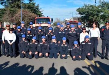 La Escuela de Cadetes de Bomberos de Rojas cumple 22 años