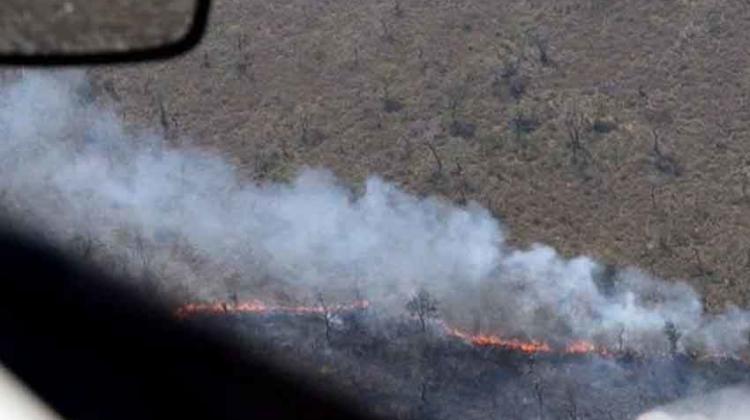 """Declaran """"estado de desastre"""" en Bolivia por incendios forestales"""