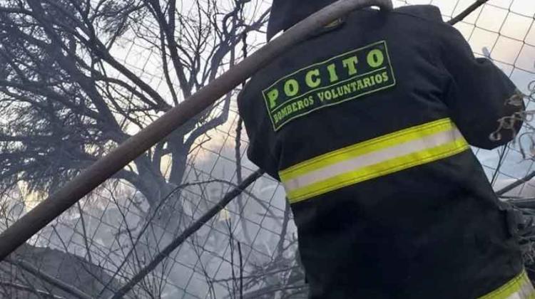Bomberos de Pocito denuncian ataques en el cuartel y robos