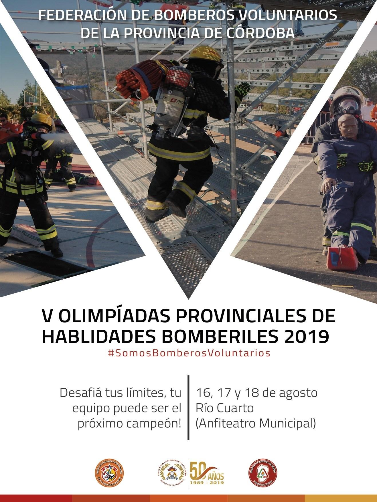 Olimpiadas provinciales de habilidades Bomberiles