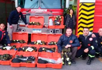 Bomberos de Berisso adquirió equipos de protección respiratoria