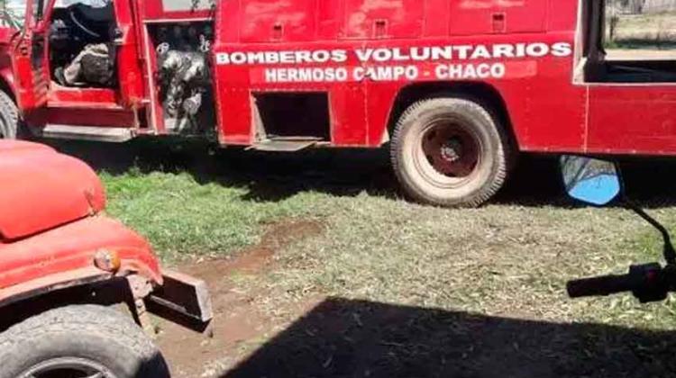 Robaron el cuartel de Bomberos Voluntarios de Hermoso Campo