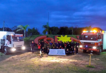 Bomberos Voluntarios de Colón con dos nuevas unidades