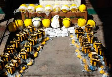 Bomberos Voluntarios de Tortuguitas con nuevos equipos
