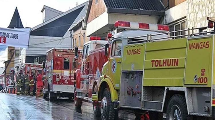 Bomberos de Tierra del Fuego reclaman pago de subsidio