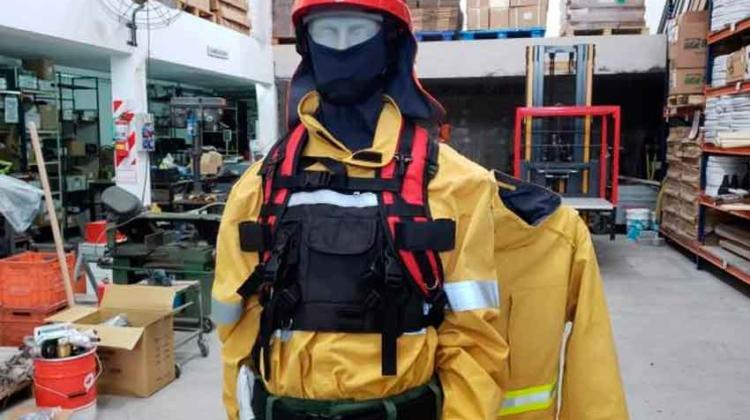 En Córdoba Fabrican equipos para combatir incendios como el de Amazonas