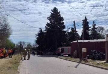 """Chocó contra el cuartel cuando los bomberos se capacitaban en """"Rescate vehicular"""""""