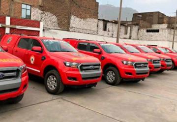 Vehículos de emergencia serán entregados ni bien tengan equipos