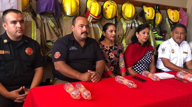 Donarán equipo a bomberos de Huajuapan