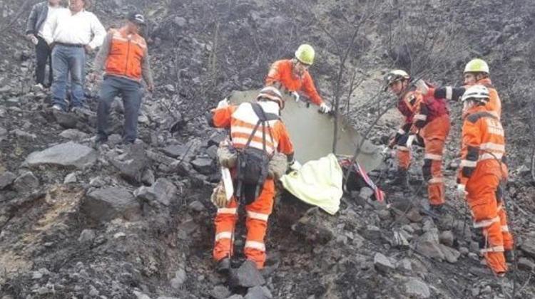 Desaparece un bombero en Coroico y fallece un comunario