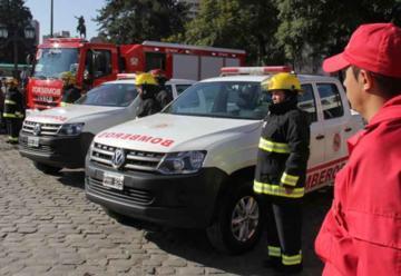 Bomberos de Córdoba cuentan con una nueva autobomba