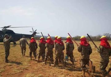 Francia envió bomberos a Bolivia para luchar contra los incendios