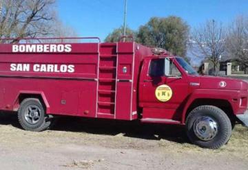 Se rompió el camión de los bomberos y piden ayuda para repararlo