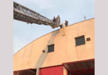 Bomberos de Villa Ramallo instaló una nueva sirena