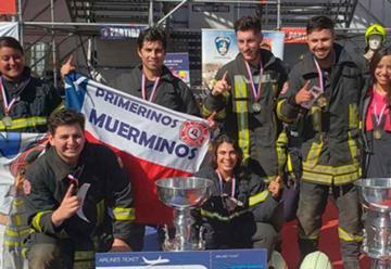 Bomberos de Chile estará presente en Copa OBA 2019