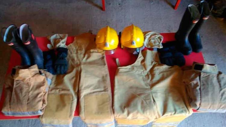 Bomberos Voluntarios Santa Anita con nuevos equipos