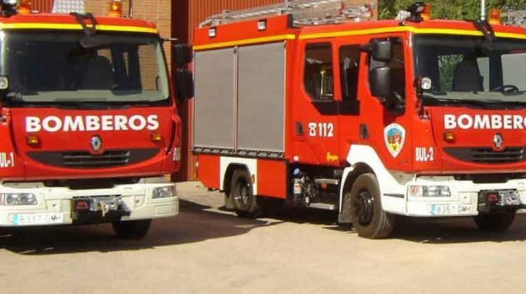 Un camión de bomberos atropella a una mujer en un paso de peatones de Albacete
