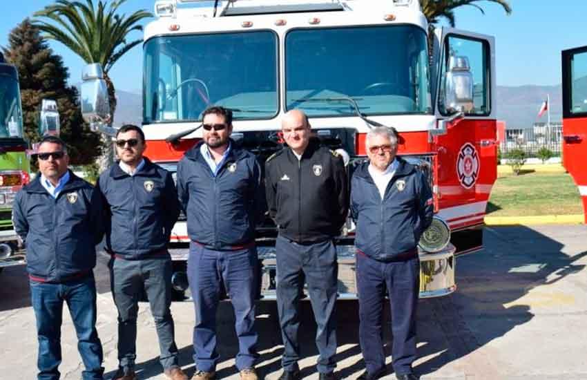 Bomberos de Tocopilla y Calama recibieron nuevos carros bomba