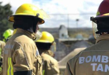 Bomberos Voluntarios Tanti con nuevos equipos
