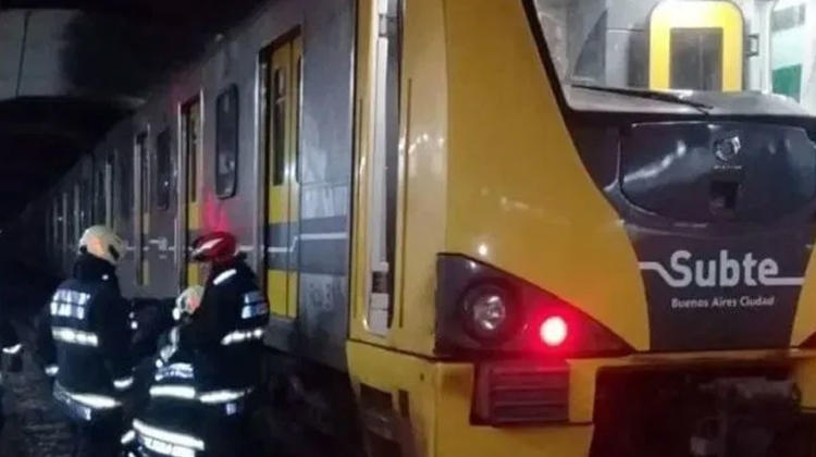 Bomberos realizó Rescate en las vías del subterráneo