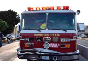Bomberos de Celaya piden apoyo policial para atender emergencias