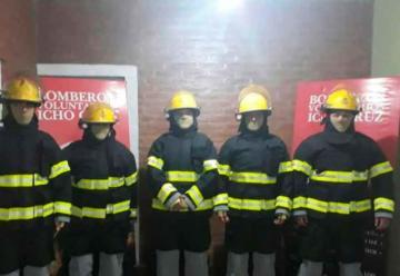 Bomberos de Icho Cruz compro equipamiento de protección