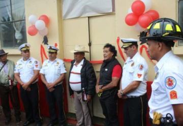 Bomberos Voluntarios inauguran nueva sede