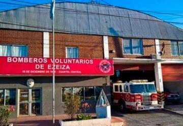 Un bombero de Ezeiza cumplió 32 años en servicio