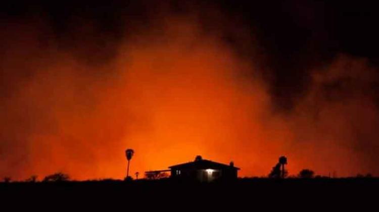 Nuevo foco de incendio en Los Cocos