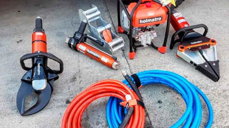 Bomberos tiene nuevo equipamiento para rescates pesados
