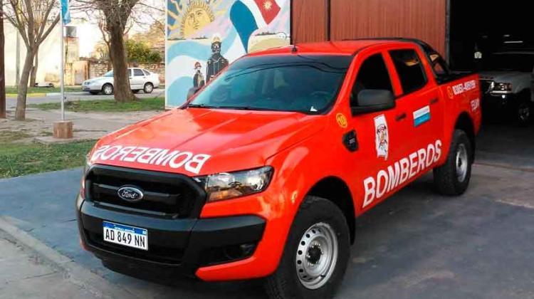 Bomberos Voluntarios de Selva recibieron un nuevo vehículo