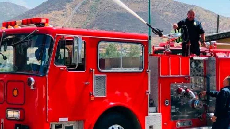 Bomberos de Tecate tienen nueva unidad