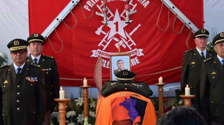 Bomberos de Chile decreta Duelo Institucional