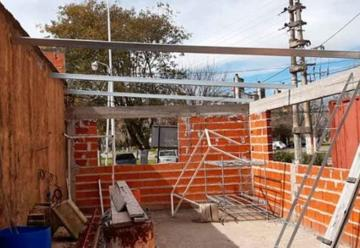 Se reiniciaron las obras en el Destacamento de Villa Zula