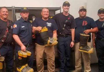 Entregan nuevos equipos a los bomberos municipales