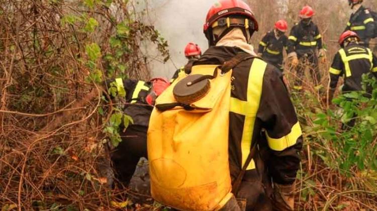 Gobernador atribuye a chamanes la extinción de incendio forestal