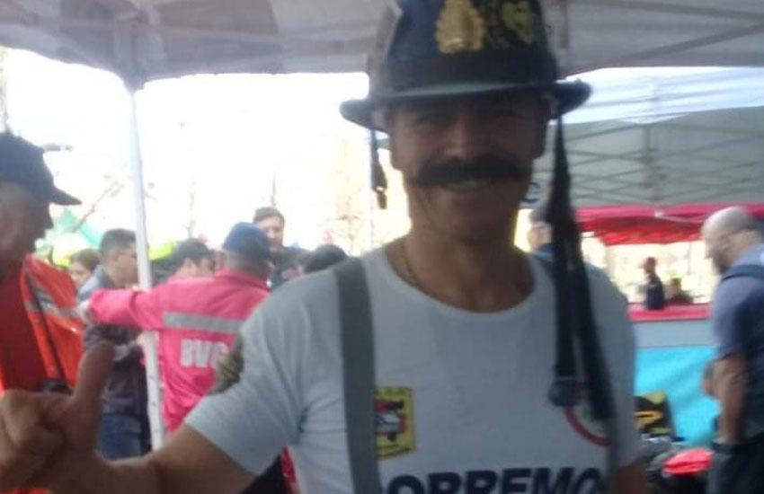 Bombero de Bernal premiado en competencia solidaria en Chile